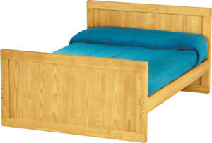 Crate Designs Twin Bed Frame with head and foot boards