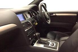 Black AUDI Q7 3.0 TDI Diesel QUATTRO S LINE FROM £124 PER WEEK!