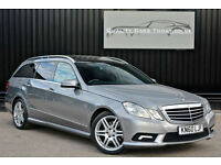 Mercedes E Class E250 CDI AMG Sport Diesel Estate *Pan Roof + Full Leather + Nav