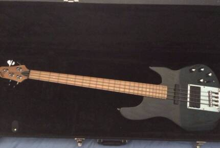 Ibanez ATK Bass with Warwick Take 12 Bass Amp and Hard case