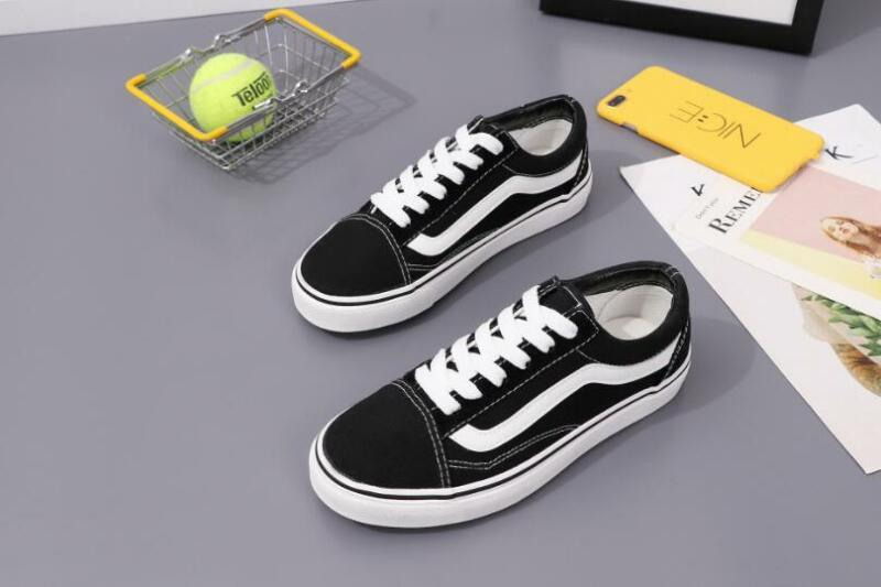 fd4a142e37255e ... Hot VAN Classic OLD SKOOL Low   High Top Suede Canvas sneakers SK8 MENS  Shoes