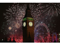 Mayor of London's NYE Fireworks night BLUE ARE TICKETS X 4