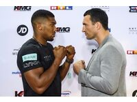Anthony Joshua tickets - section 132 - Lower tier - 2 to sell - 225 each
