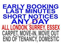 50% Off Property Cleaning London - TENANCY - CARPET - DOMESTIC - OFFICE - SOFA - BUILDERS- CLEANERS