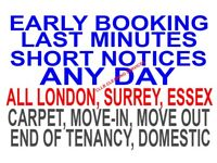 ALL LONDON ONE-OFF DEEP CLEAN END OF TENANCY CLEANER CARPET HOUSE DOMESTIC BUILDERS CLEANING SERVICE