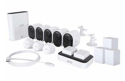NETGEAR Arlo Ultra 4K UHD Wireless 5-Camera System VMS5541C, NIB SHIP FROM STORE