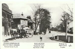 London-Postcard-Old-Acton-Goldsmiths-Arms-East-Acton-c1908-2171