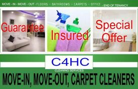 SHORT NOTICE- CARPET STEAM WASH, END OF TENANCY CLEANING, MOVE-IN, BUILDERS, ONE-OFF DEEP CLEANERS