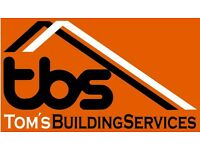 Friendly, Reliable and Clean Plastering Service- Tom's Building Services