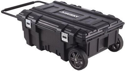 Mobile Tool Box Rolling Wheels Job Site Caddy Stackable Extra Large Storage Bin
