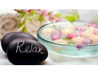 Relaxing body massage
