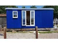 Shepherds hut, extra living, glamping, Air B&B