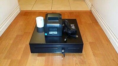 (Square Stand Bundle: Star TSP654U  USB Receipt Printer & Cash Drawer Combo)