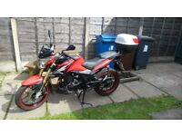 Lexmoto ZSX-R 125 Motorcycle 10 months old, serviced, very low mileage
