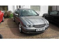 JAGUAR X-TYPE FRONT WING RH SIDE & REAR BUMPER WANTED. LMR Grey