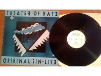 Theatre Of Hate – Original Sin · Live, VG, released on Dojo in 1985, Cat No DOJOLP 19.