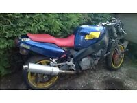 Yamaha FZR 1000 motorbike spares and repairs