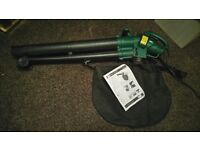 unused leaf blower/hoover, and professional weed remover