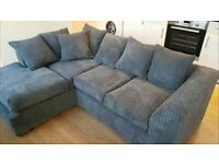 💝💝 BYRON JUMBO CORDED 💝💝 CORNER SOFA OR 3+2 SOFA SET AVAILABLE NOW IN STOCK
