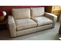 Large (200cm x 97cm) 3 seater sofa very comfy