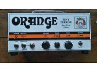 Orange Tiny Terror hard wired valve head