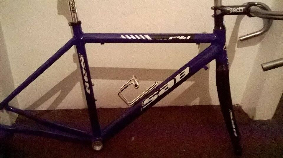 SAB..Planet x frame BRAND NEW 48cm with extras road bike alu/carbon ...
