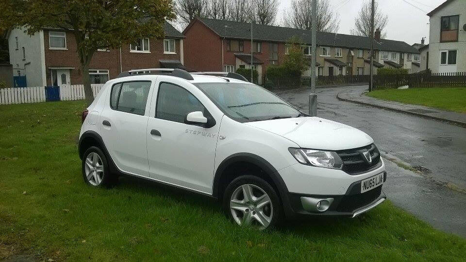 2015 dacia sandero stepway ambiance 0 9tce in greenisland county antrim gumtree. Black Bedroom Furniture Sets. Home Design Ideas