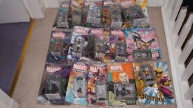 MARVEL FIGURES AND MAGAZINES - EAGLEMOSS