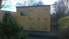 10ft x 6ft Garden Shed