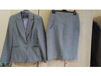 Size 12 atmosphere jacket & skirt suit