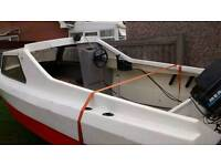 Fishing boat with 50 hp