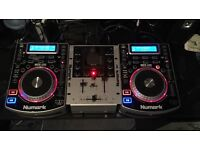 Numark NDX400 Decks and Mixer