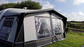 caravan awing for 2 birth