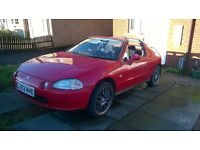 HONDA CRX (DEL SOL) CONVERTIBLE ELECTRIC 'T' TOP. 1.5 V-TECH AUTO