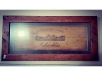 Chablis Picture Framed