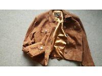 Vintage DUBARRY suede jacket