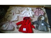 girls winter coats various sizes and prices all immaculate