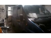 2005 BLUE FORD TRANSIT 85 T280 SWB BREAKING, ALL PARTS AVAILIBLE inc (engine/gearbox ect)