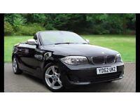 BMW with added extras, sat nav, bluetooth, parking sensors, 12 months MOT
