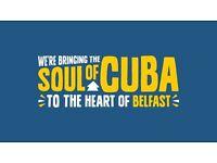 REVOLUCION DE CUBA - WE ARE HIRING!!!