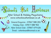 Playworkers required in Henleaze