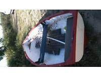 Boat tender project 10ft grp tender nice little row boat