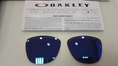 Linse Ersatzschnur Oakley Frogskins 9013 Violet Iridium 55 Ersatz Lenses Lenti