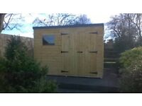 10ft x 6ft Wooden Garden Shed