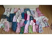 WHOLESALE/JOB LOT Baby Girls Clothes 0-3 Months