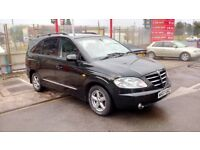 SsangYong Rodius seven seaters 2.7 diesel