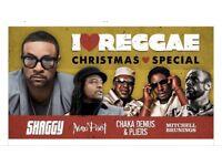 2x tickets too I love reggae Christmas special