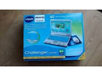 Vtech Challenger Laptop (blue) - age 4+ VGC in original box £10 - *Collection only*