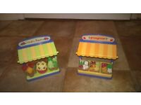 Happyland green grocer counters (2)