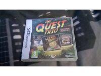 The Quest Trio D.S Lite game